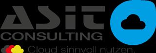Das Bild zeigt das ASIT-Consulting Logo in Bunt
