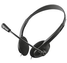 Das Bild zeigt ein Headset auf weißem Hintergrund